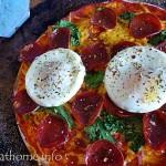 2014-10-11 Sausage egg pizza