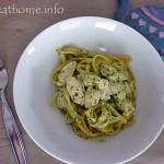 2014-10-17 Pesto chicken pasta