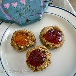 2014-10-22 Peanut butter & jelly cookies (nut day)
