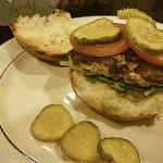 2014-11-14 Pickle & turkey burger