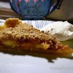2014-12-03 Apple crumble pie