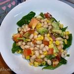 2015-01-06 Bean & avocado salad