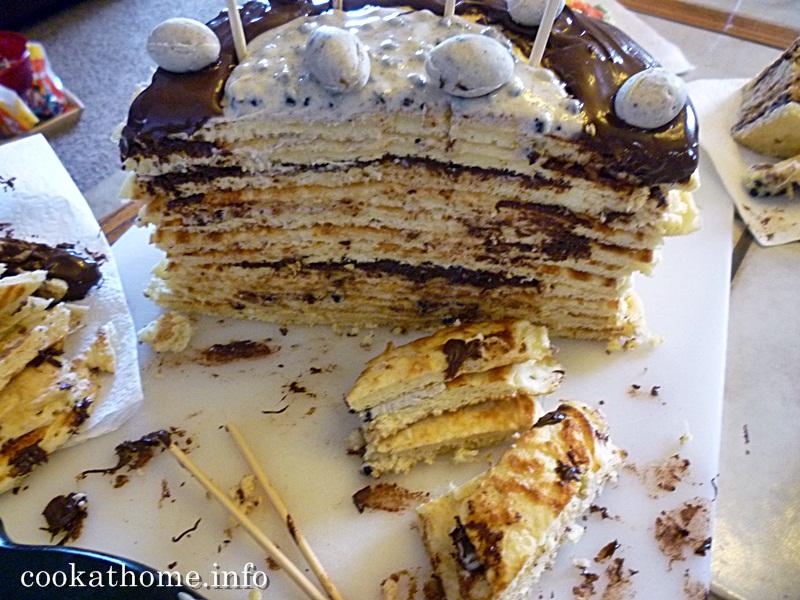 2015-03-28 Abby's pancake cake
