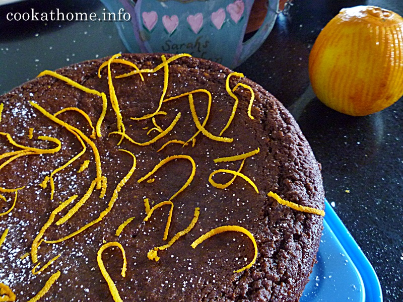2015-06-14 Chocolate orange cake