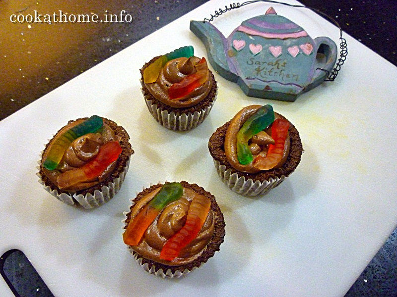 2015-12-19 'Joseph' chocolate orange cupcakes