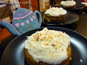 2016-01-29 'Goodness' coconut citrus cakes