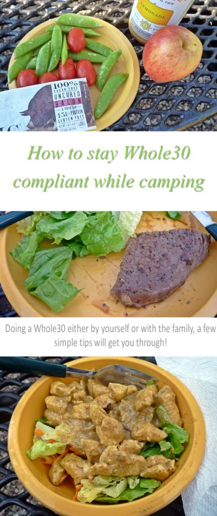 How To Stay Whole30 Compliant While Camping