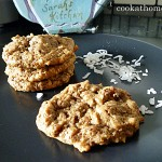 Almond coconut cookies