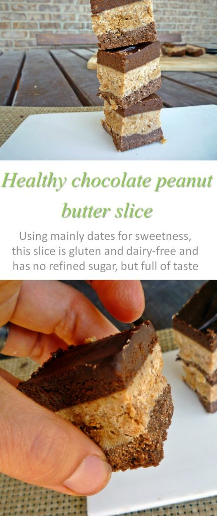 Another option for combining chocolate and peanut butter with all natural, non-processed ingredients. Grain-free, refined sugar-free, gluten and dairy-free! #chocolatepeanutbutter