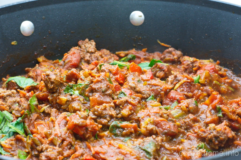 This bolognese recipe is simple and hearty, serve it over pasta, or as a lasagna filling, or on toast ... #bolognese