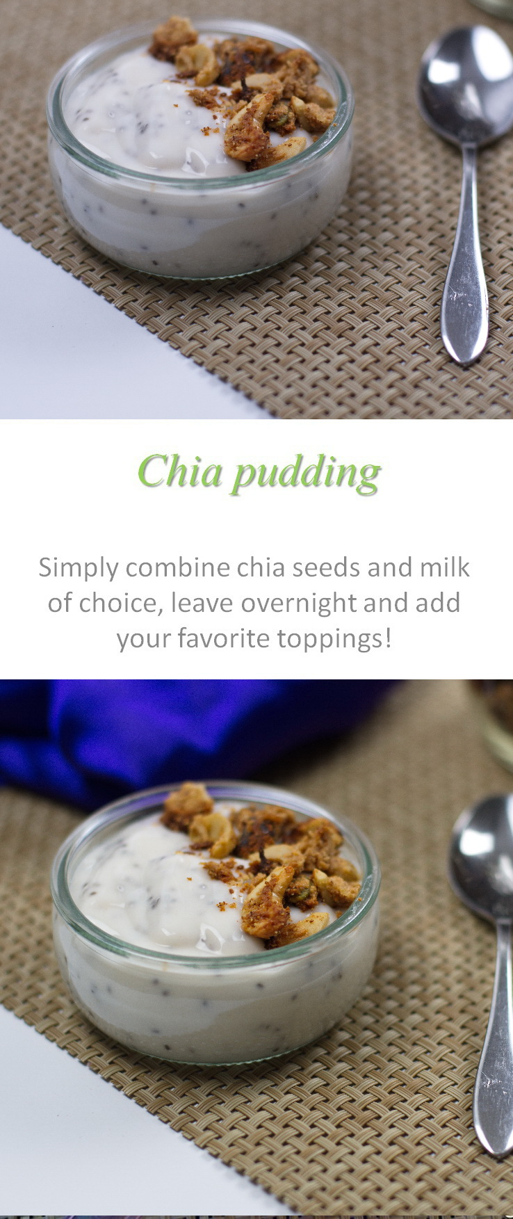 A simple chia pudding breakfast that can take on so many different flavors and textures #chiapudding