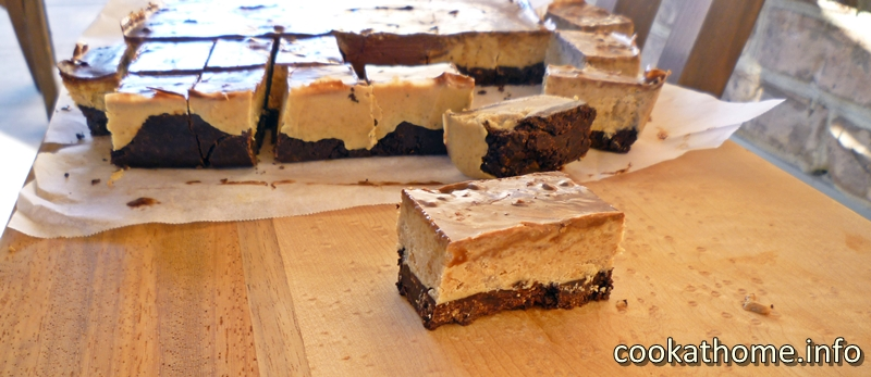 Chocolate sunbutter slice