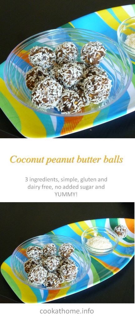 Coconut pb balls long P