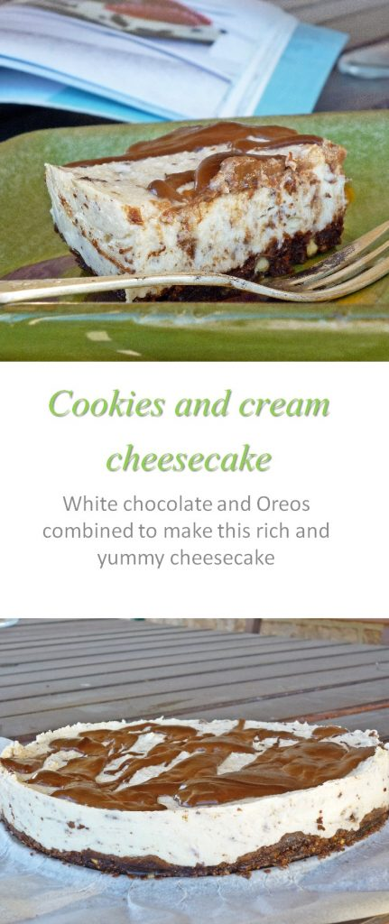 cookies-and-cream-cheesecake