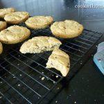 Farina choc chip shortbread cookies