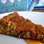 Flourless honey almond cake