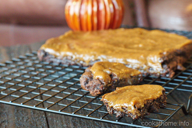 Fudgy, Paleo pumpkin brownies - not just for fall, but every season of the year! #brownies