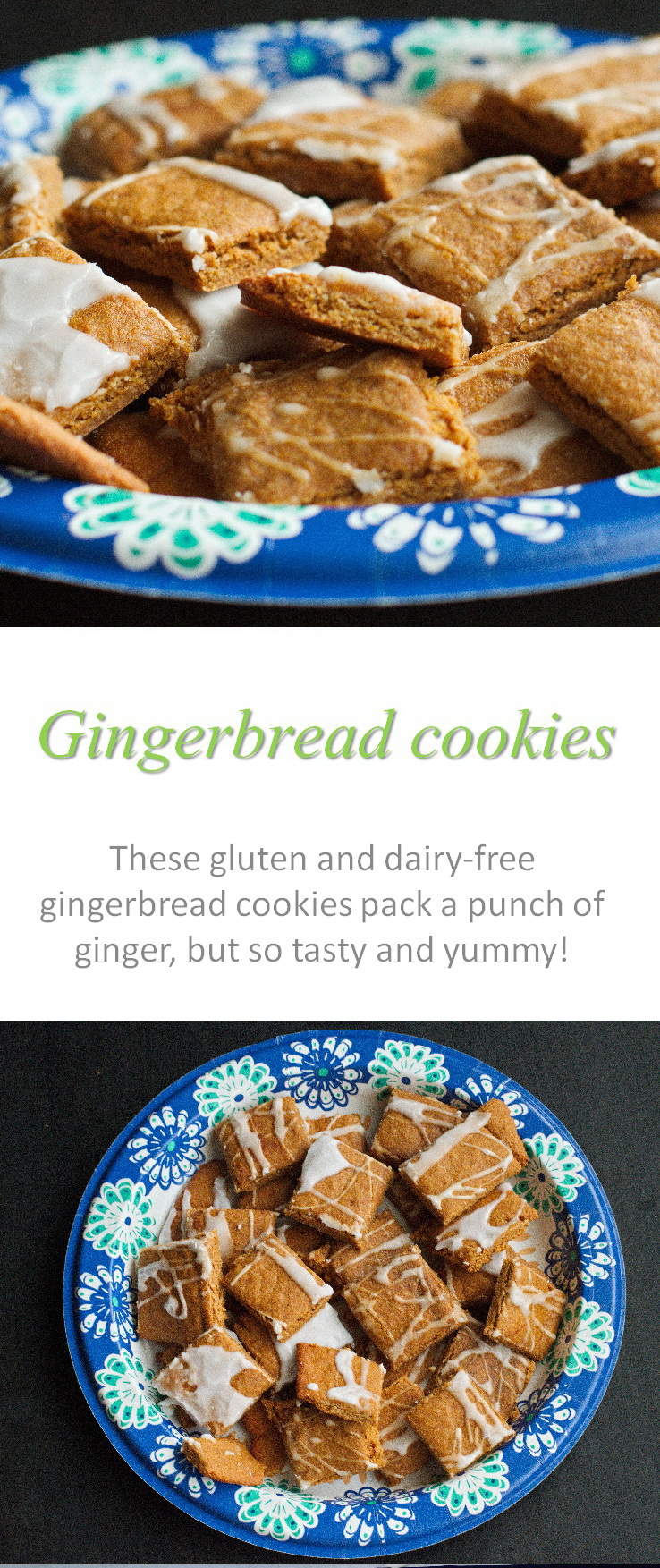 These flavorful gluten and dairy-free gingerbread cookies are full of Christmas spices, but can (and should) be eaten any time of year!