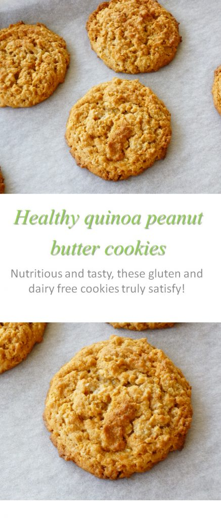 Healthy quinoa pb cookie