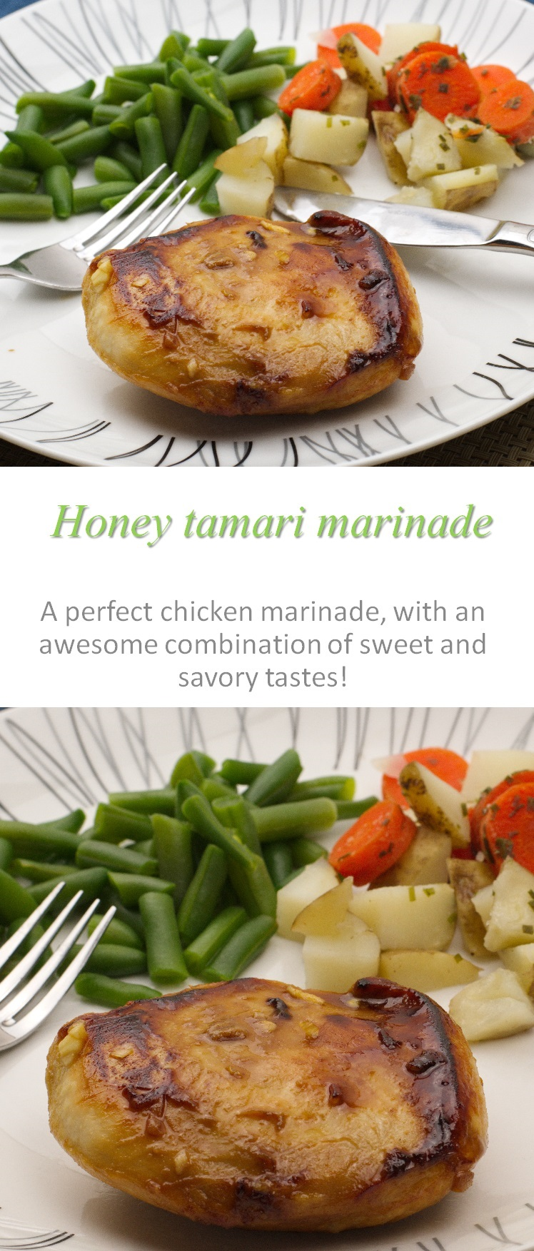 A yummy gluten free honey tamari marinade that is awesome for any type of chicken  #marinade