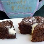 Molten flourless chocolate cupcakes