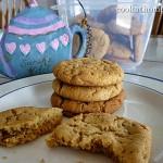 Mum's peanut butter cookies
