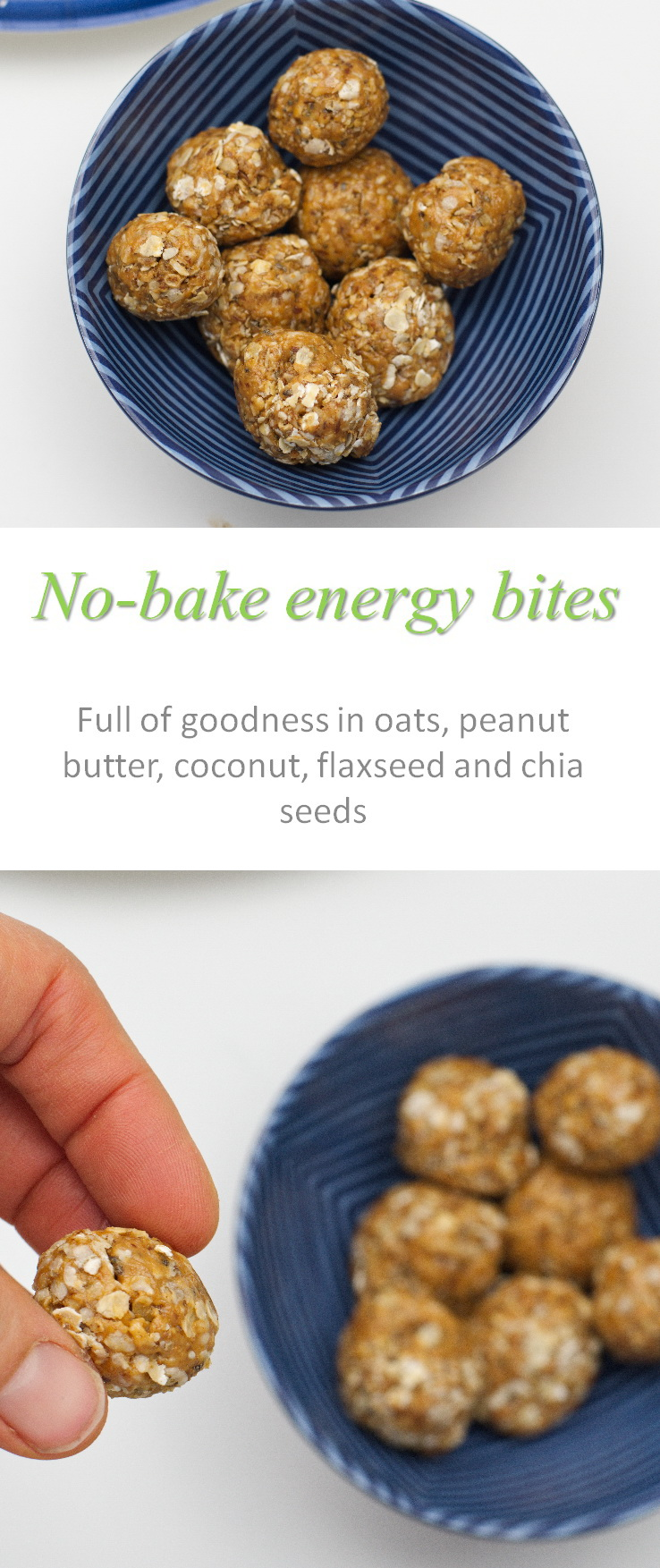 A healthy, no-bake gluten and dairy-free recipe with no added refined sugar, these no-bake energy bites have plenty of taste! #energybites