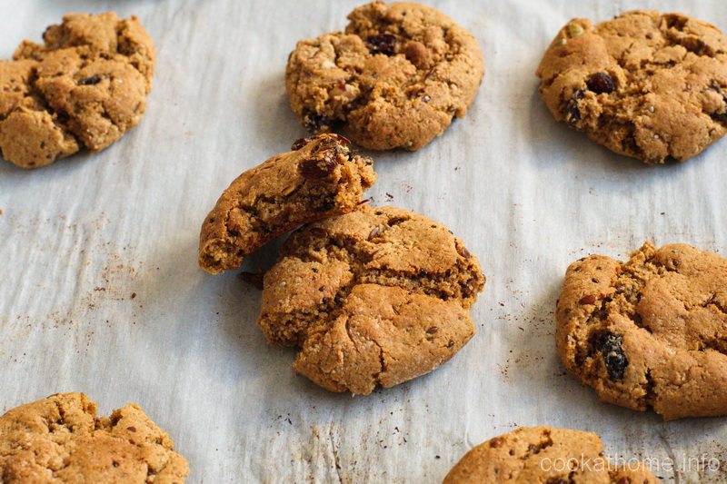 Paleo-friendly, delicious and moist, these coconut raisin cookies have such a delightful taste, they are the star of any gathering! #coconut