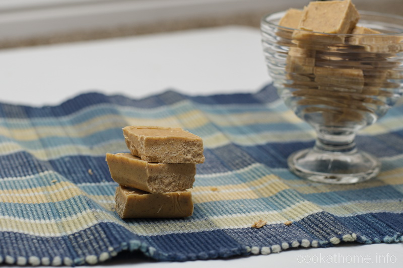 A simple peanut butter fudge recipe that can be adjusted with other add-ins as you please! #peanutbutter #fudge #cookathome #glutenfree #dairyfree