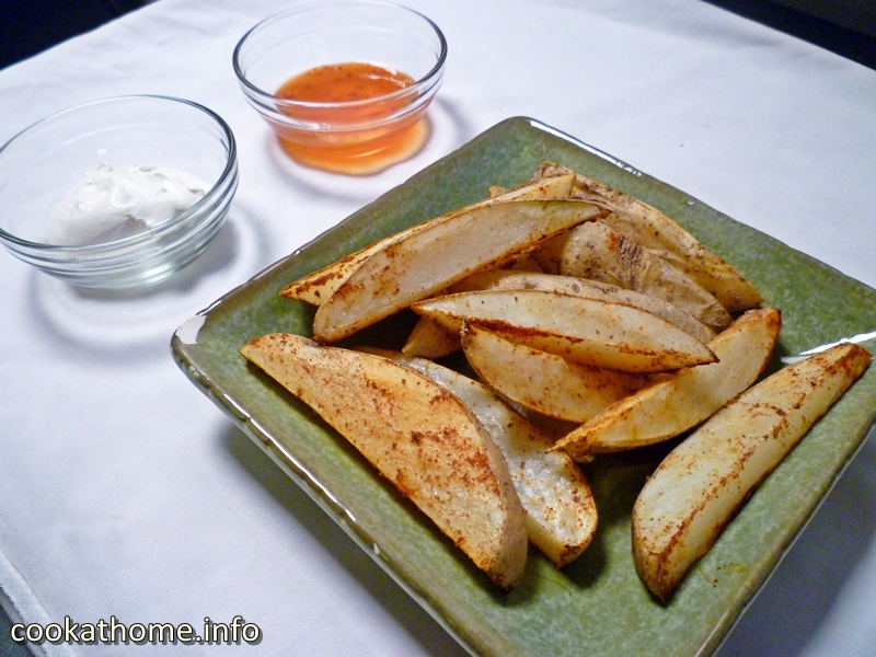 A classic snack or side that will compliment any meal - these seasoned potato wedges are a real family favorite!
