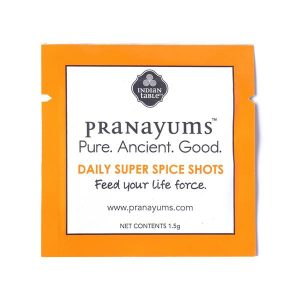 Feeling worn down and tired all the time?  Check out how to use Pranayums super spice shots in your daily life!