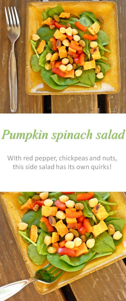 pumpkin-spinach-salad