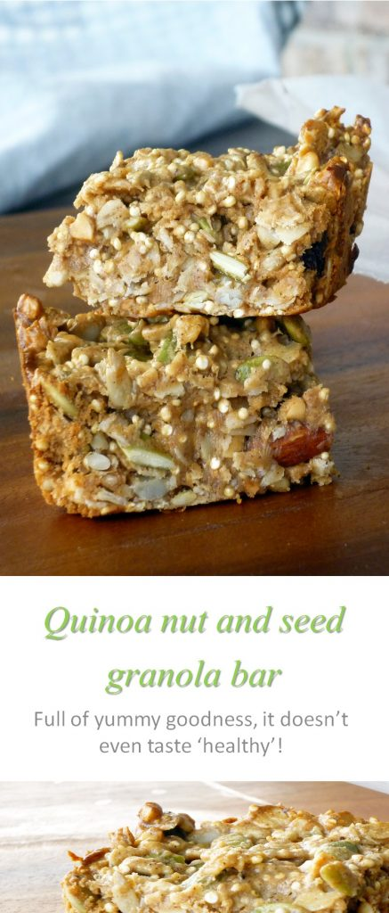 Quinoa nut & seed bar
