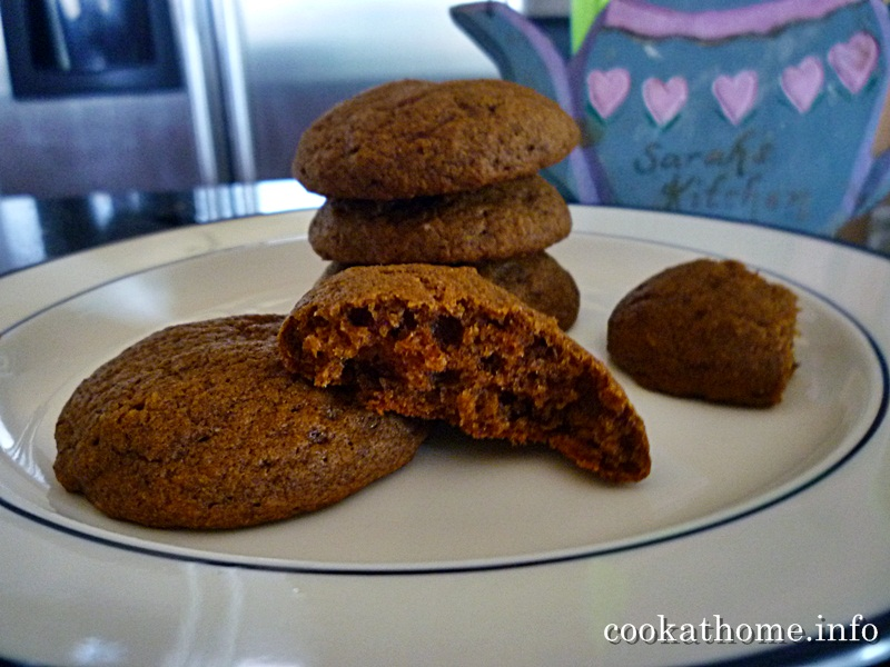 Cook at home | Soft molasses cookies - Cook at Home