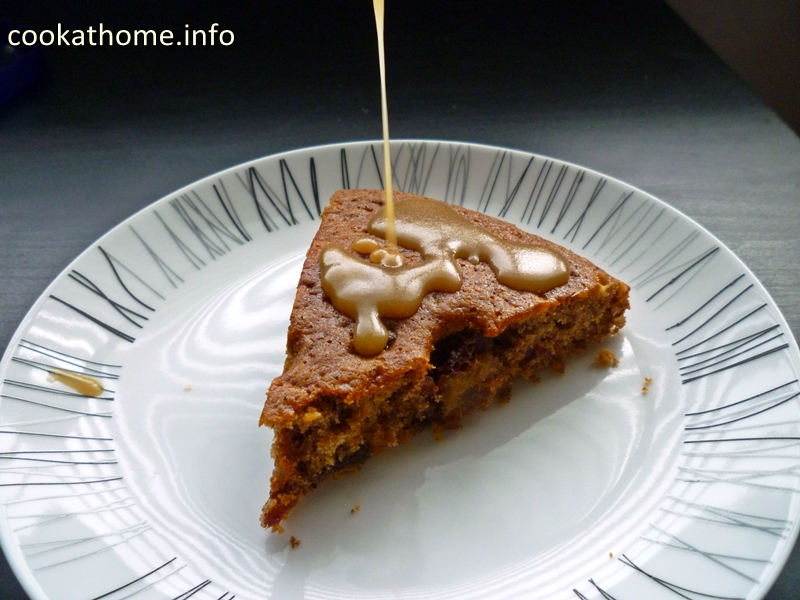 The traditional sticky date and toffee pudding with a gluten and dairy-free makeover, and as a sticky toffee pudding cake! #toffee #pudding #cake #cookathome #glutenfree #dairyfree