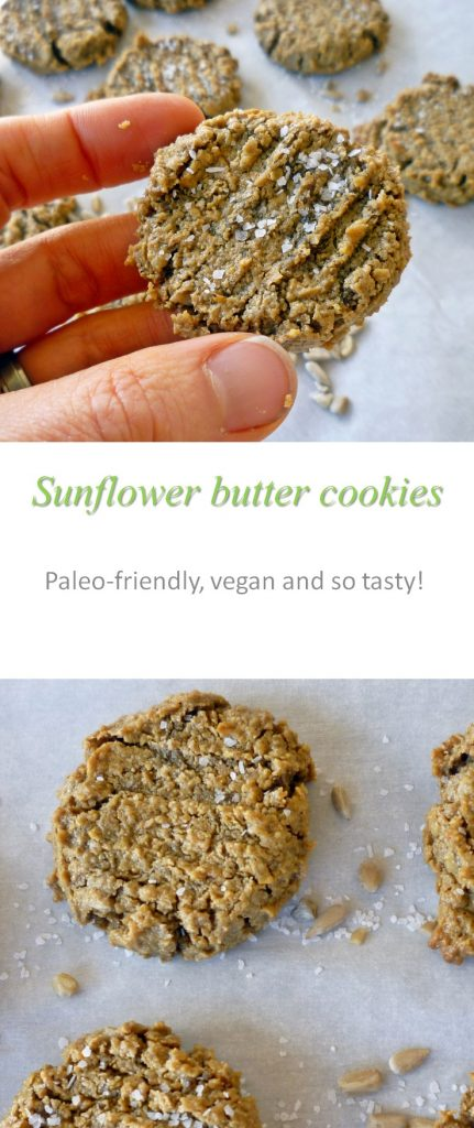 Sunflower seed butter cookie
