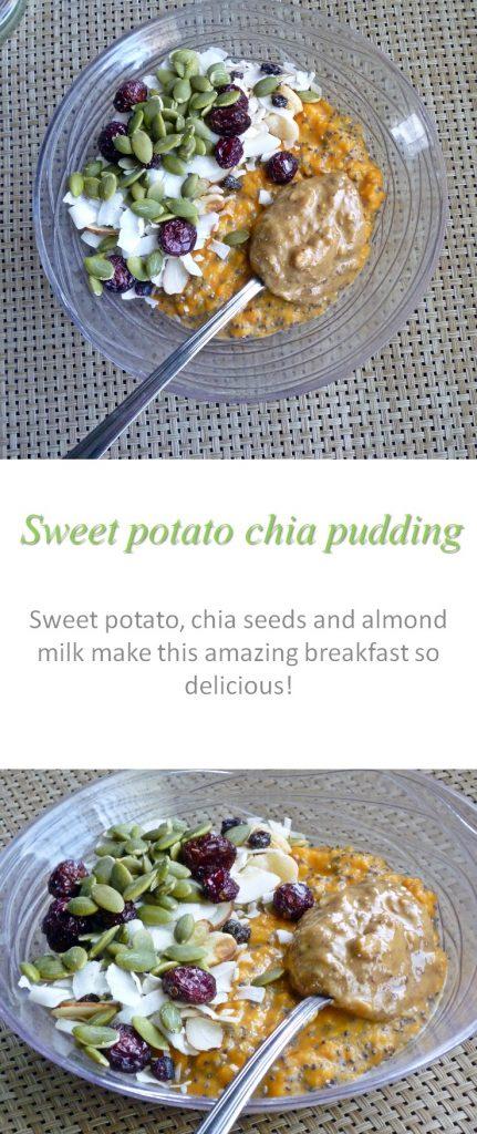 Sweet potato chia pudding