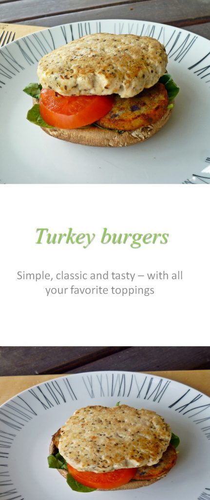 A basic burger recipe that contains no gluten but still packs a punch with flavor. Add any herbs and spices you wish to change the flavor each time! #burger