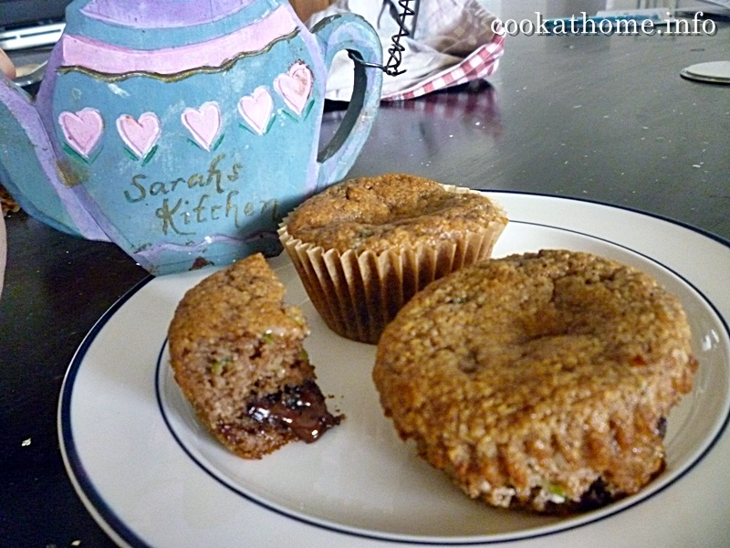 how to make choc muffins at home