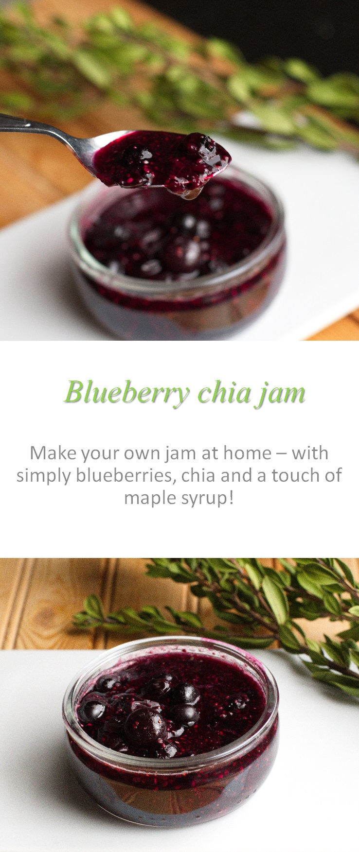 how to make blueberry jam at home